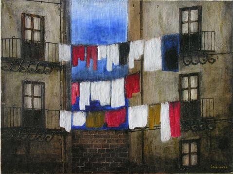 olio su tela, Giuseppe Ferrante